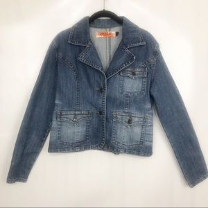 Apollo Jean Jacket. Size L